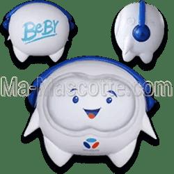 Fabrication Produits gonflables Sur Mesure Beby Bouygues (mascotte gonflable sur mesure).