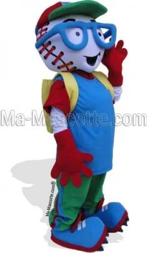 Fabrication Mascotte Sur Mesure baseball (mascotte personnage sur mesure).