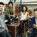 Le groupe BB Brunes en concert