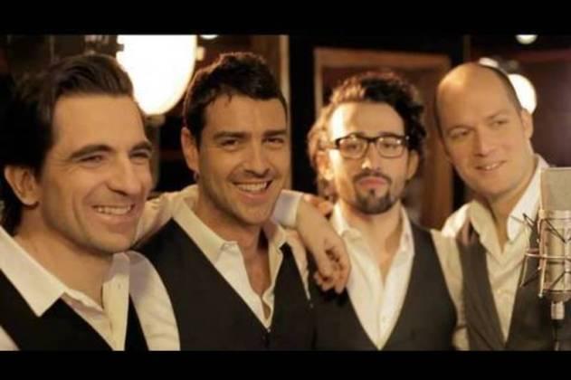 le quatuor de choc Les Stentors reprennent les standarts de la Chanson Française