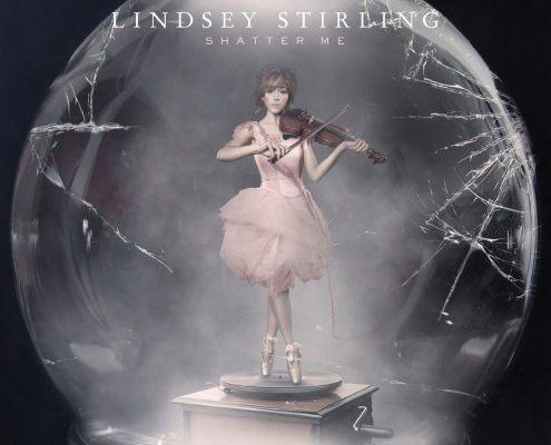 la cover de shatter me dernier album de lindsey stirling