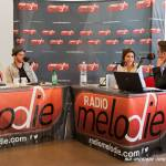 Deux artistes, Julie Zenatti et Maximilien Philippe reçu en interview par Sébastien et Nadia de Radio Mélodie