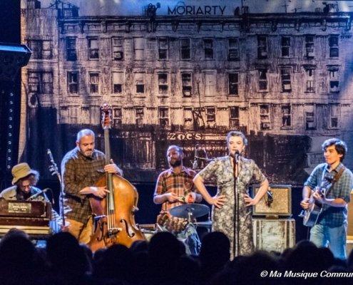 Le groupe Moriarty en concert à la Halle Verrière de Meisenthal (57)