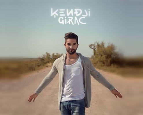 Pochette de l'album Ensemble de Kendji Girac
