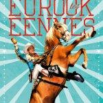 voici l'affiche de la 29eme édition du festival des Eurockéennes
