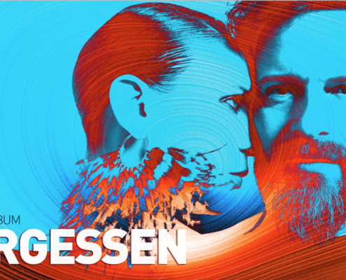 affiche de Fergessen pour le nouvel album l'été