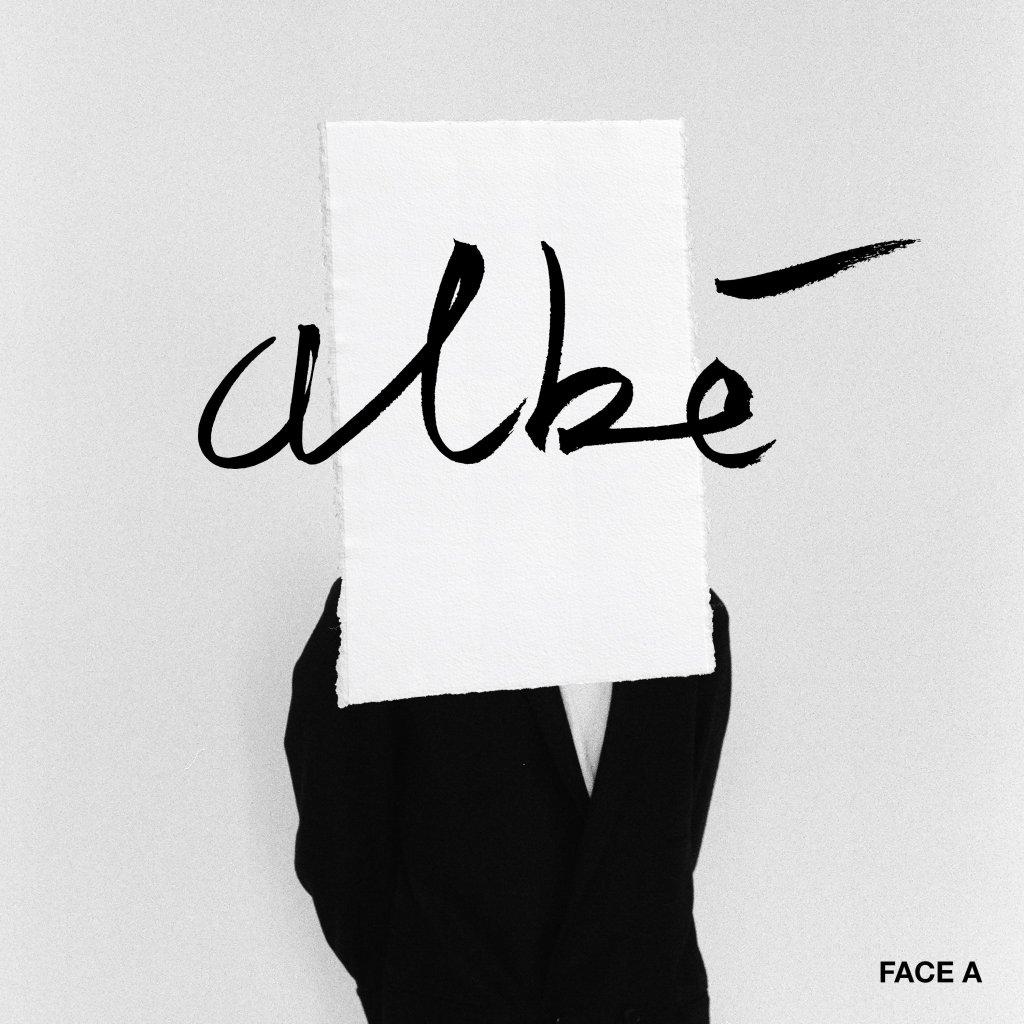 la pochette de l'ep Face A de l'artiste français Albé est disponible