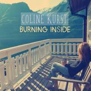"""connue dans le monde électro comme Audrey Valorzi, l'artiste change de nom et devient Coline Kurst avec ce titre """"Burning Inside"""""""