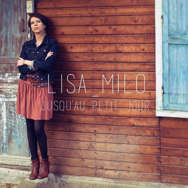 pochette du single jusqu'au petit jour de Lisa Milo