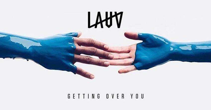 "pochette du single ""Getting Over You"" de l'artiste américain Lauv"