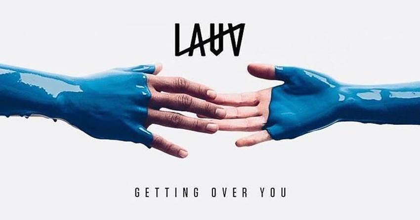 """pochette du single """"Getting Over You"""" de l'artiste américain Lauv"""