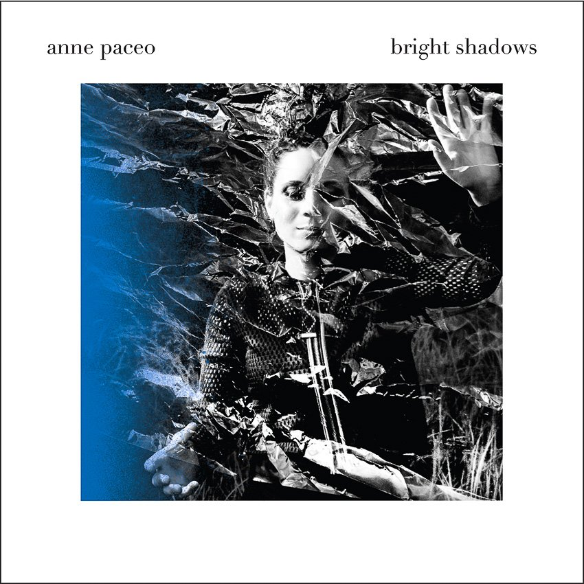 visuel du nouvel album Bright Shadows de l'artiste Anne Paceo