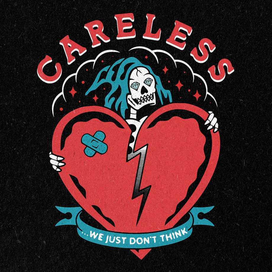 pochette du single Careless du duo canadien The Blue Stones