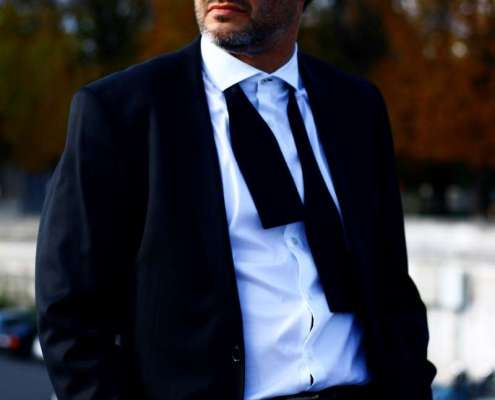 portrait du crooner français Yves Carini
