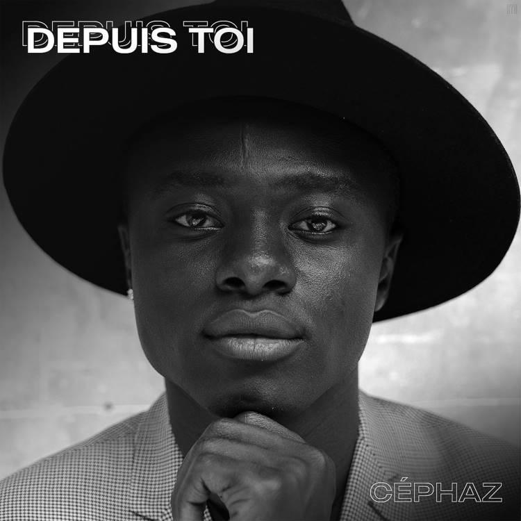 """pochette du single """"Depuis toi"""" de l'artiste Céphaz"""