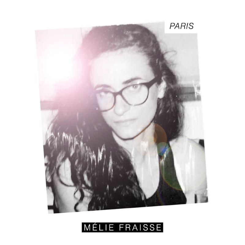 """pochette de l'EP """"Paris"""" de Mélie Fraisse"""