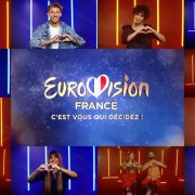 12 photos des finalistes français pour l'Eurovision ainsi que le logo