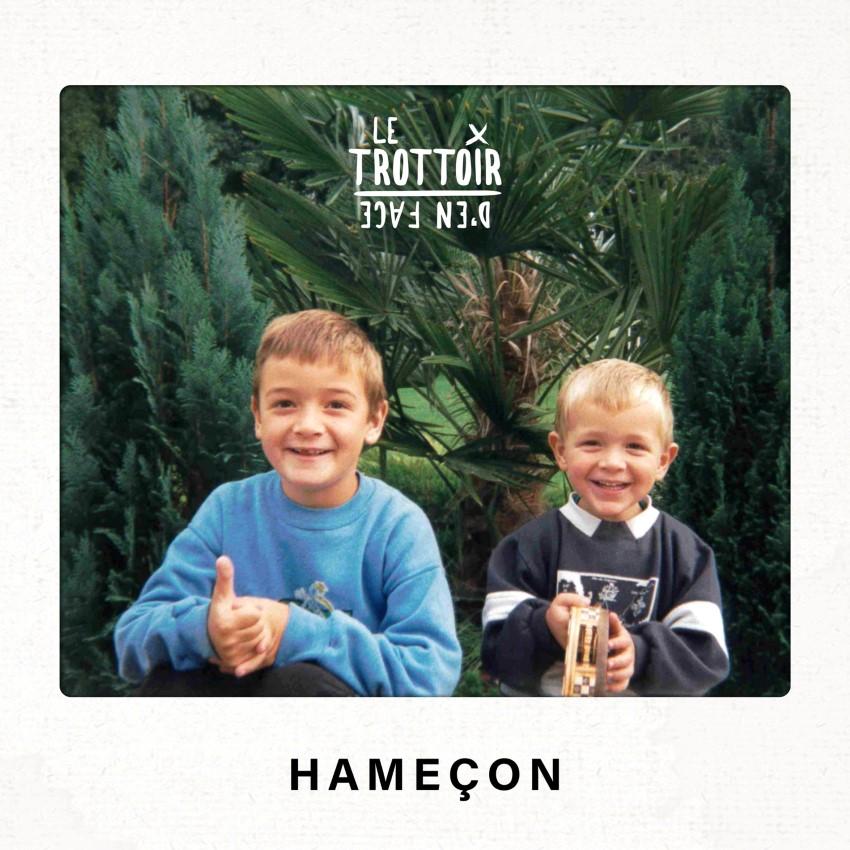 """pochette du single """"Hameçon"""" du groupe Le Trottoir d'en Face"""