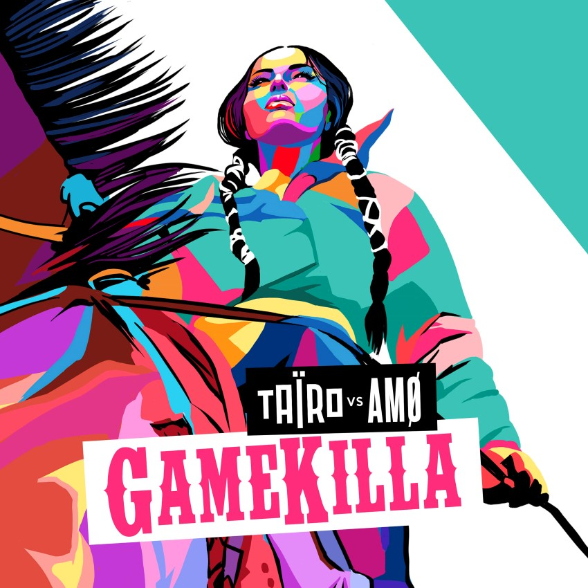 pochette du titre Gamekilla de Taïro en duo avec Amo