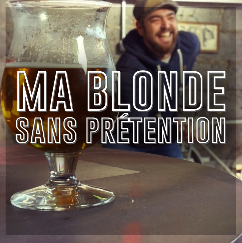 """pochette du titre """"Ma Blonde"""" de Sans Prétention"""
