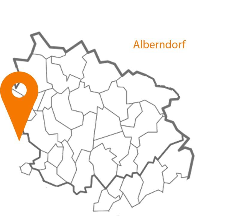 MAP Karte Alberndorf