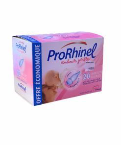 20 embouts jetables souples ProRhinel bébé
