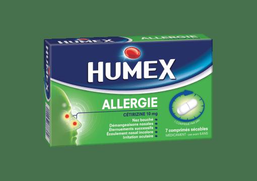 Humex allergie Citrizine 10 mg - Comprimés sécables