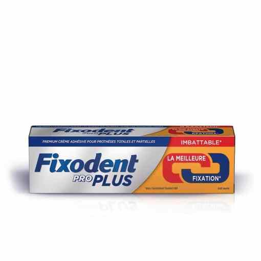 Fixodent pro plus la meilleure solution creme adhesive