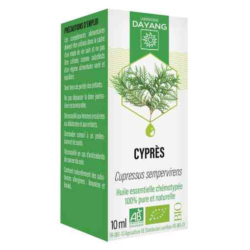 Huile essentielle de Cypèrs Bio Dayang