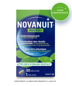 Novanuit Phyto plus sans accoutumance 100% vegetal