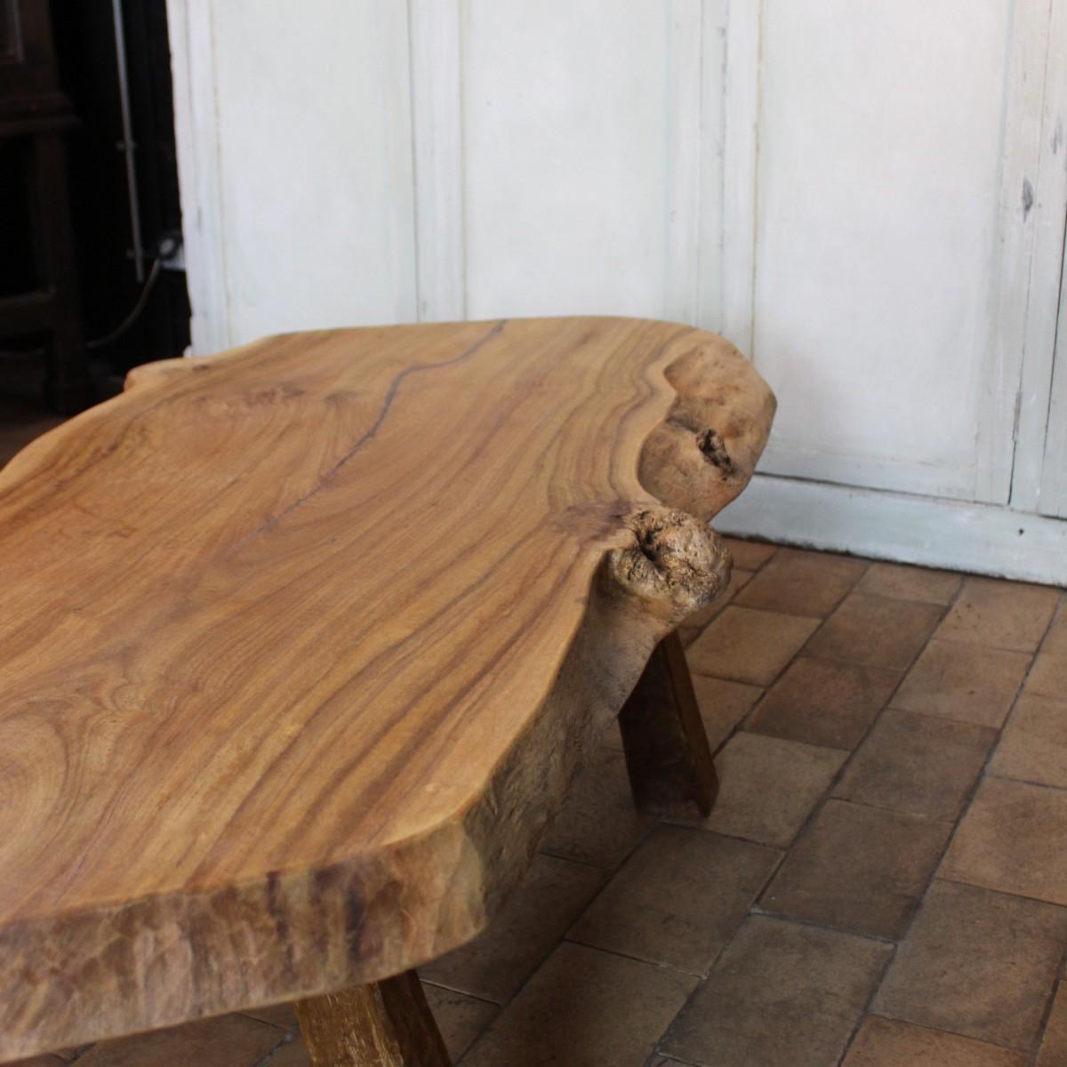 grande table basse tronc d arbre
