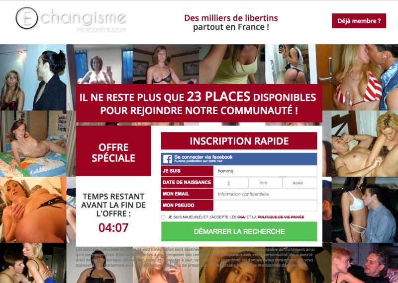 site de libertinage gratuit la france libertine