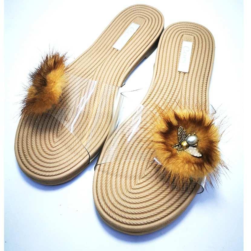 sandale mule CROPEL beige
