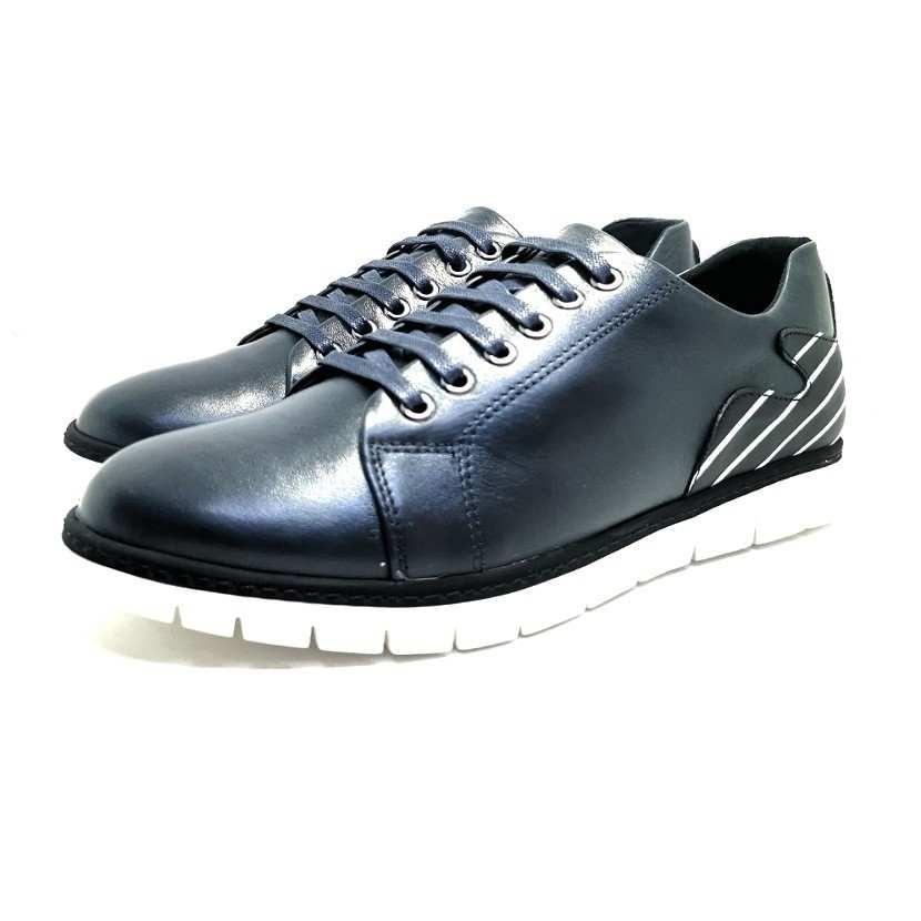 Chaussure homme de style Basket THOWS-Confort pour homme bleu