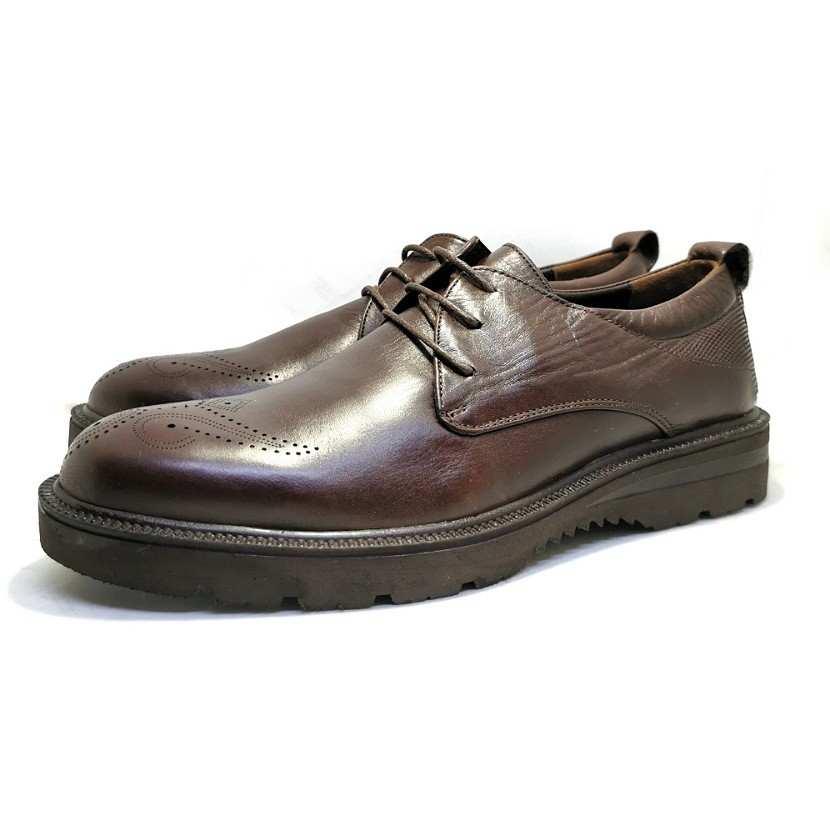 chaussure richelieu crantéy marron