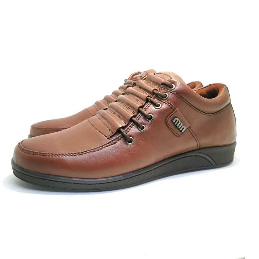 Chaussure de ville Crown-Confort pour homme marron clair
