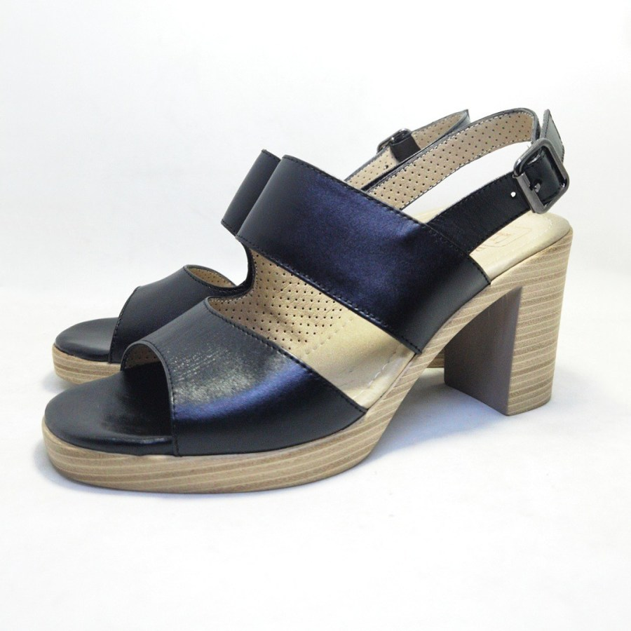 sandale DEROLYP Noir