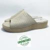 sandale mule médicale NOWLESS beige