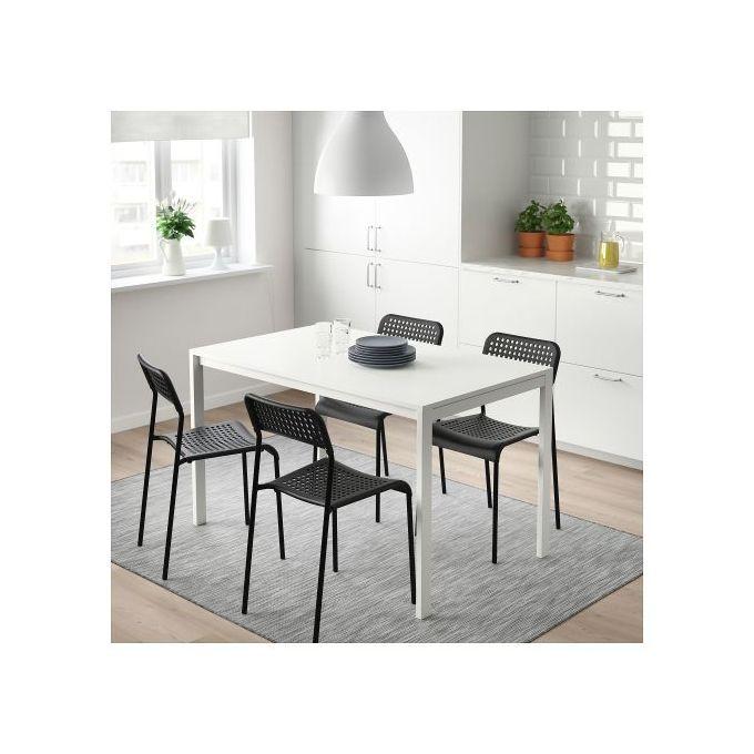 chaises addet noir pour salle a manger 4 pieces