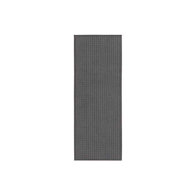 tapis de cuisine gris 45x120 cm