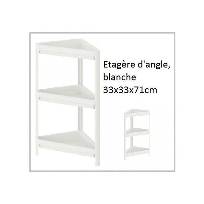 etagere d angle pour salles de bain chambres et cuisines 3 niveaux