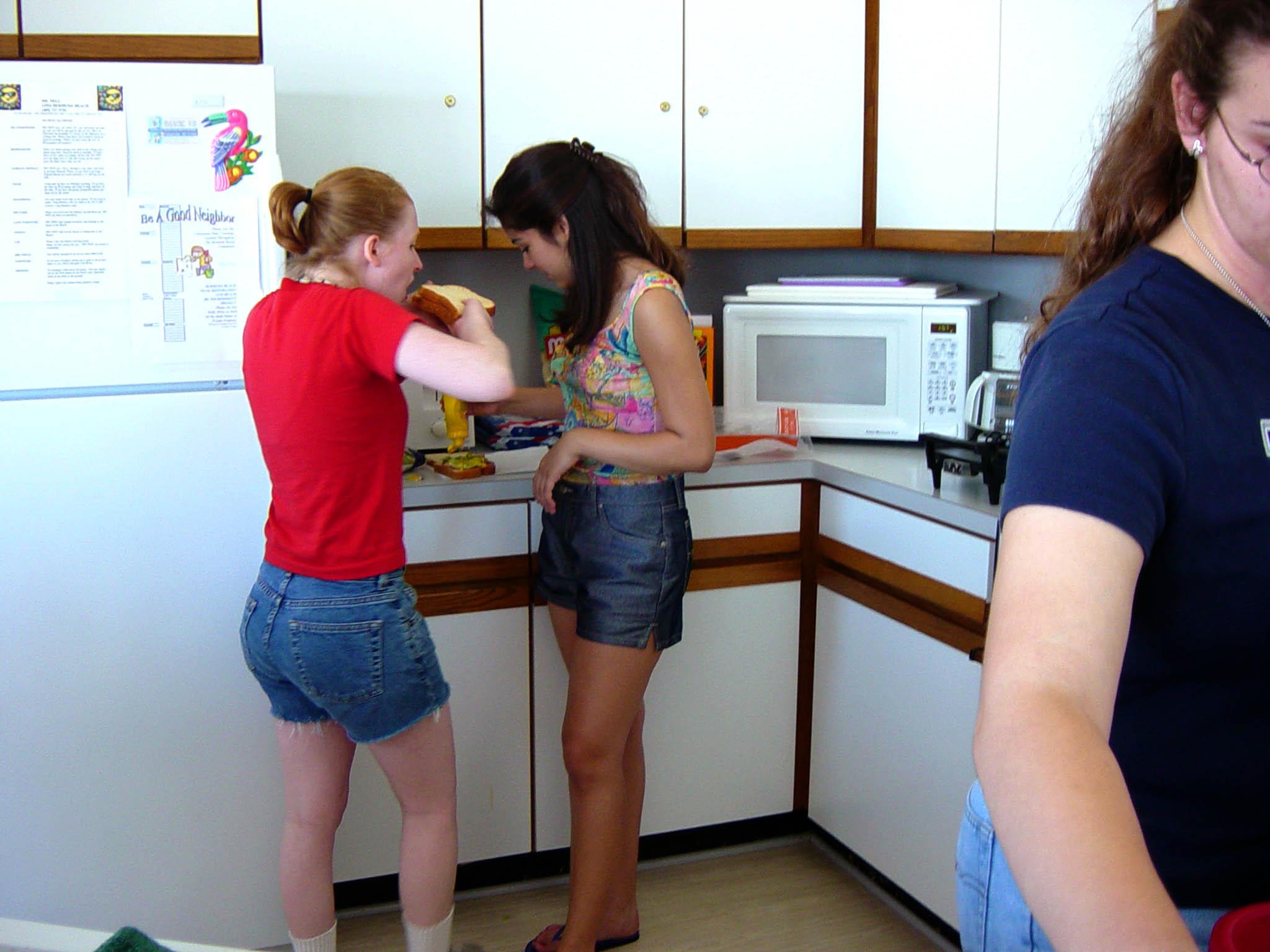 Emily Dean, Bridget Murphy, Courtney Griffin