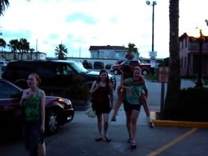 Bridget Murphy, Carolyn Brewer, Emily Dean, Kat Pirnie