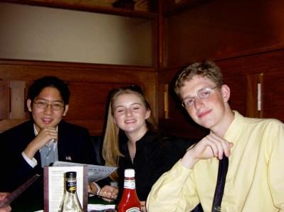 Matt Mullenweg, Jonathan Wu, Jennafer Newberry