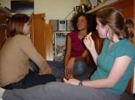 Sarah Clarke, Rebecca Lammons, Rachel Speight
