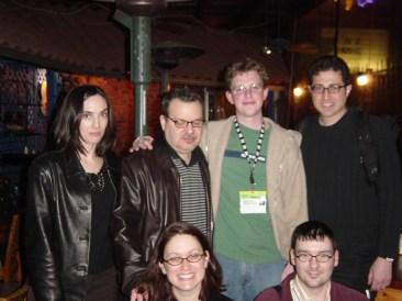 Matt Mullenweg, Tantek Çelik, Chuck Olsen, Carrie Bickner, Jeffrey Zeldman, Tanya Rabourn