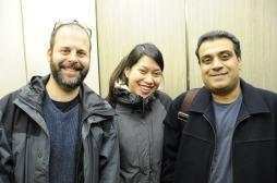 Glenda Bautista, Om Malik, Scott Rafer