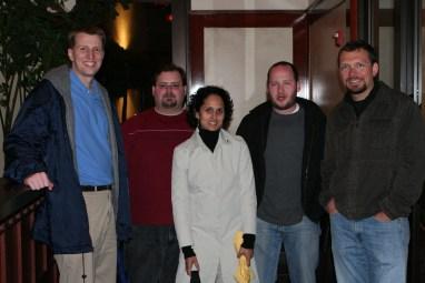Joseph Scott, Demitrious Kelly, Maya Desai, Barry Abrahamson, Toni Schneider