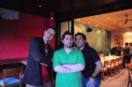 Alister Cameron, Jeff Waugh, Paul Schena