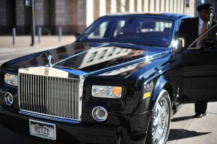 """Why did we go to WordCamp in a Roll-Royce Phantom? We were running late and Jane commandeered the """"house Phantom"""" at the Ritz-Carlton which takes you anyplace within 5 miles for free.1 Comment"""